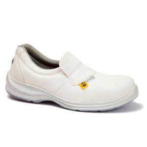 bijele radne cipele